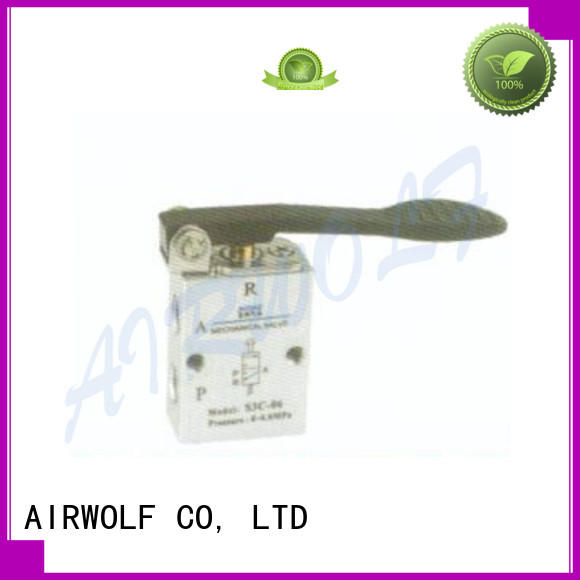 cheapest price push button pneumatic air valve stroke at discount AIRWOLF