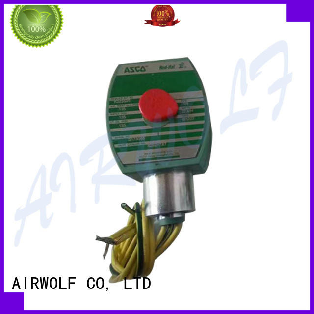 AIRWOLF hot-sale single solenoid valve operated for gas pipelines