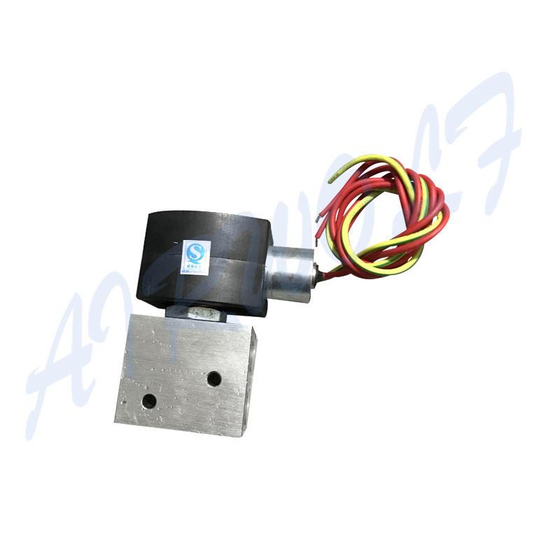 AIRWOLF high-quality pneumatic solenoid valve single pilot liquid pipe-2