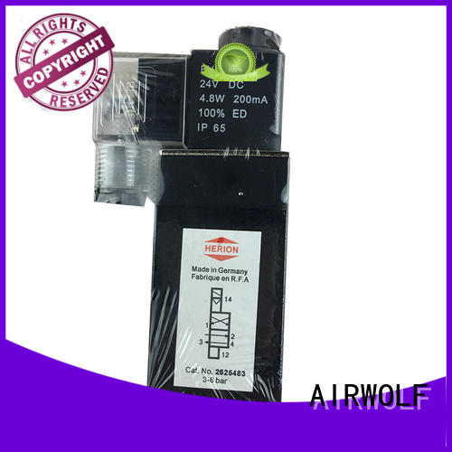 AIRWOLF high-quality magnetic solenoid valve spool switch control