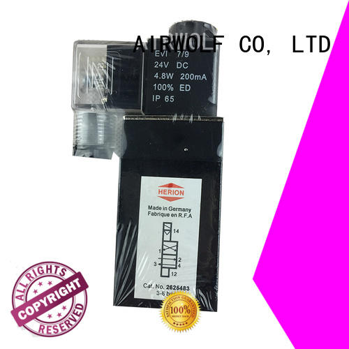 AIRWOLF high-quality pneumatic solenoid valve operated direction system