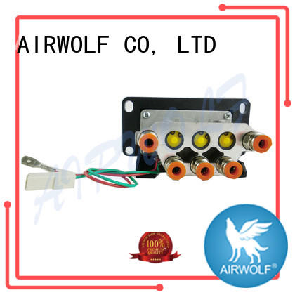 hydraulic tipping valve black for faucet AIRWOLF