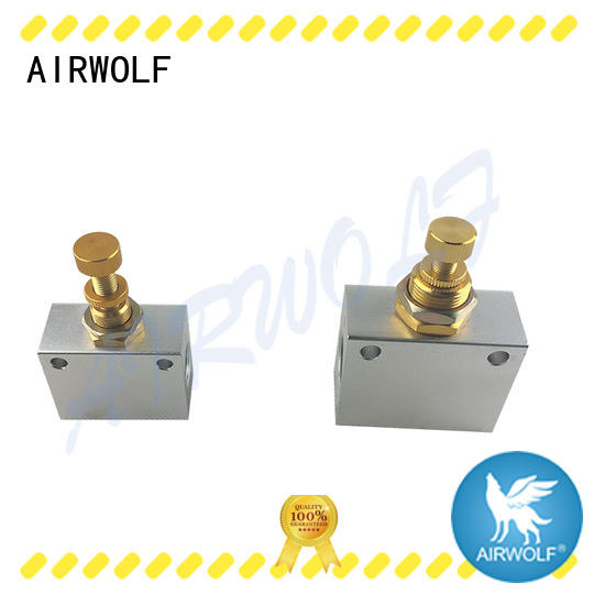 AIRWOLF high quality pneumatic push button valve series at discount