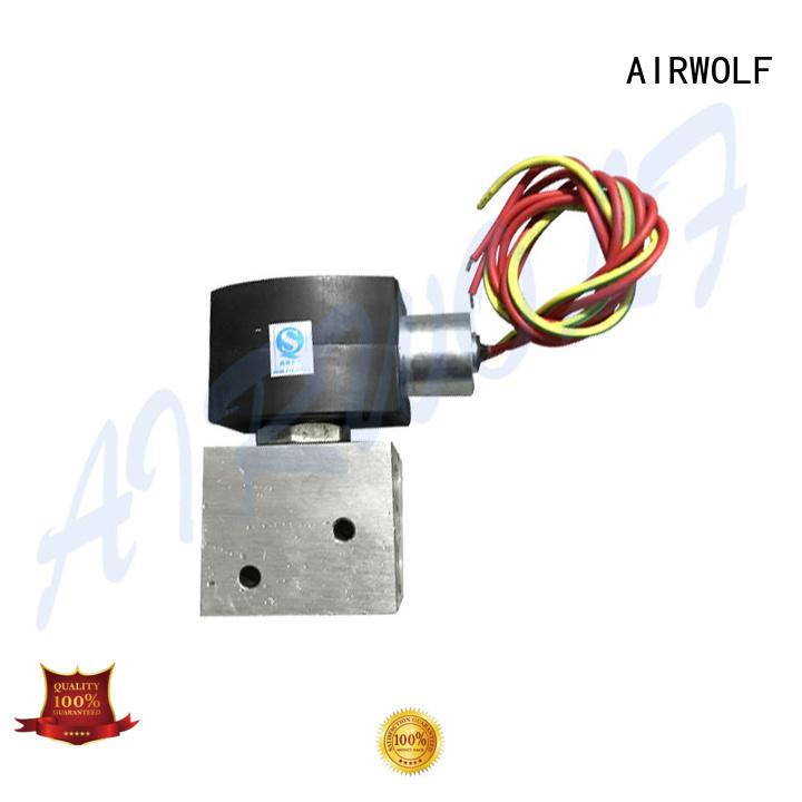 AIRWOLF aluminium alloy electromagnetic solenoid valve high-quality switch control