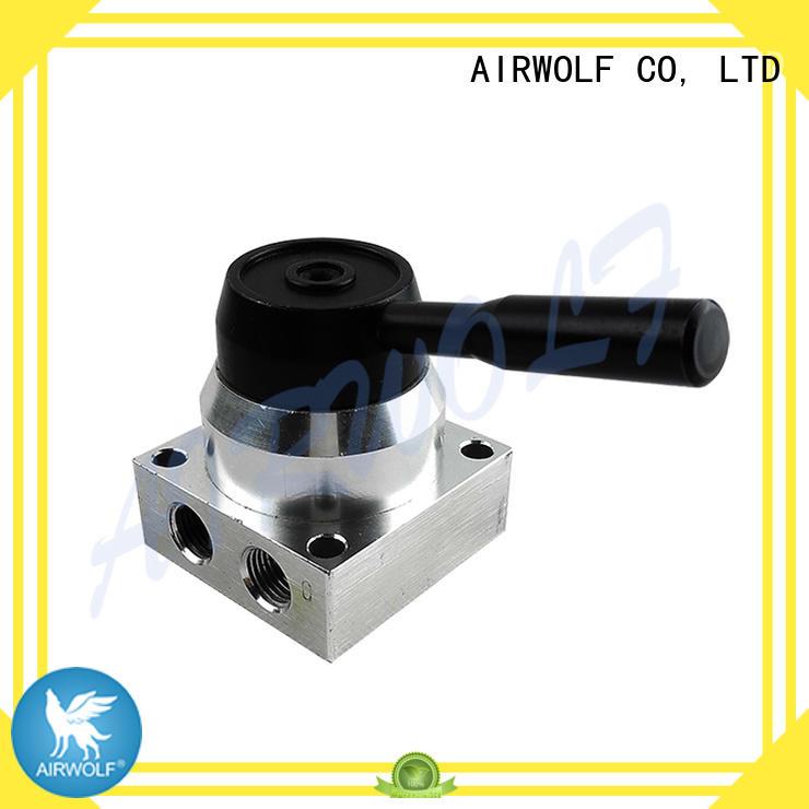 AIRWOLF cheapest price pneumatic manual control valve valves wholesale