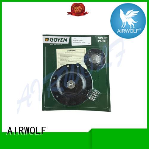 AIRWOLF remotely air valve repair kit kit dyeing industry