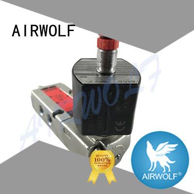 AIRWOLF aluminium alloy single solenoid valve high-quality switch control