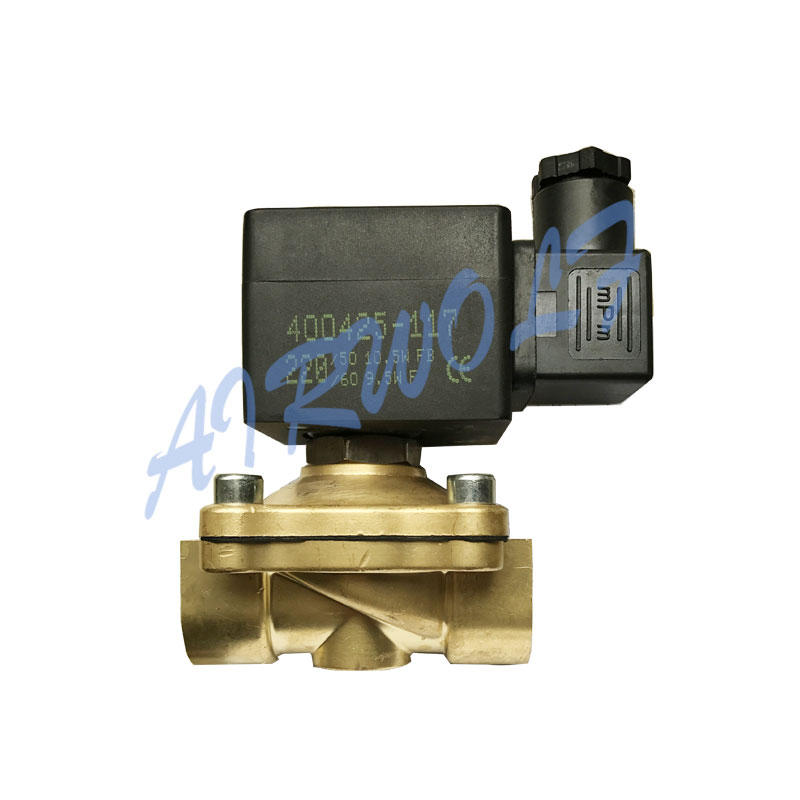 AIRWOLF hot-sale pneumatic solenoid valve single pilot water pipe-1