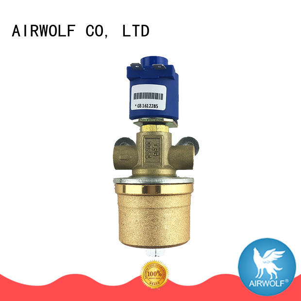 AIRWOLF ODM single solenoid valve operated water pipe