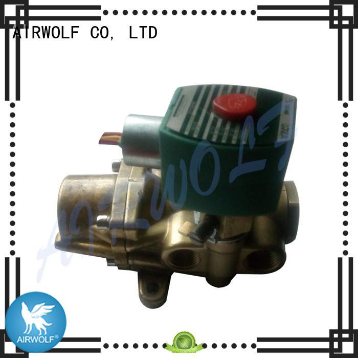 AIRWOLF aluminium alloy pneumatic solenoid valve spool adjustable system