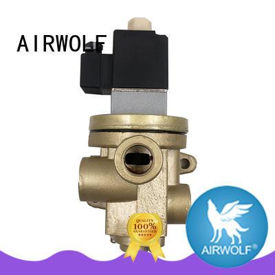 AIRWOLF hot-sale pneumatic solenoid valve single pilot liquid pipe
