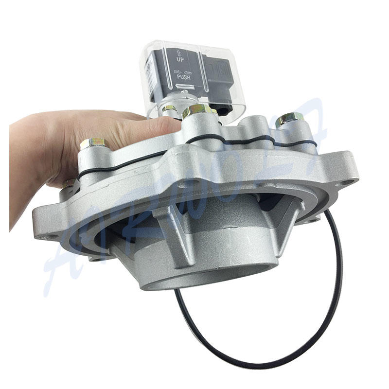 electrically goyen pulse jet valve aluminum alloy custom for sale-3