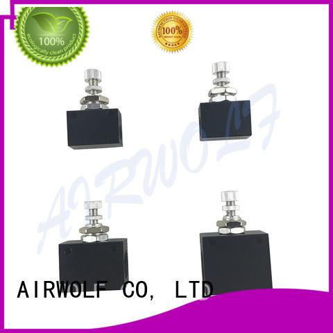 hand-switching hand operated pneumatic valve mini bulk production AIRWOLF