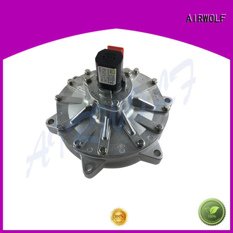 AIRWOLF aluminum alloy pulse jet valve design cheap price at sale