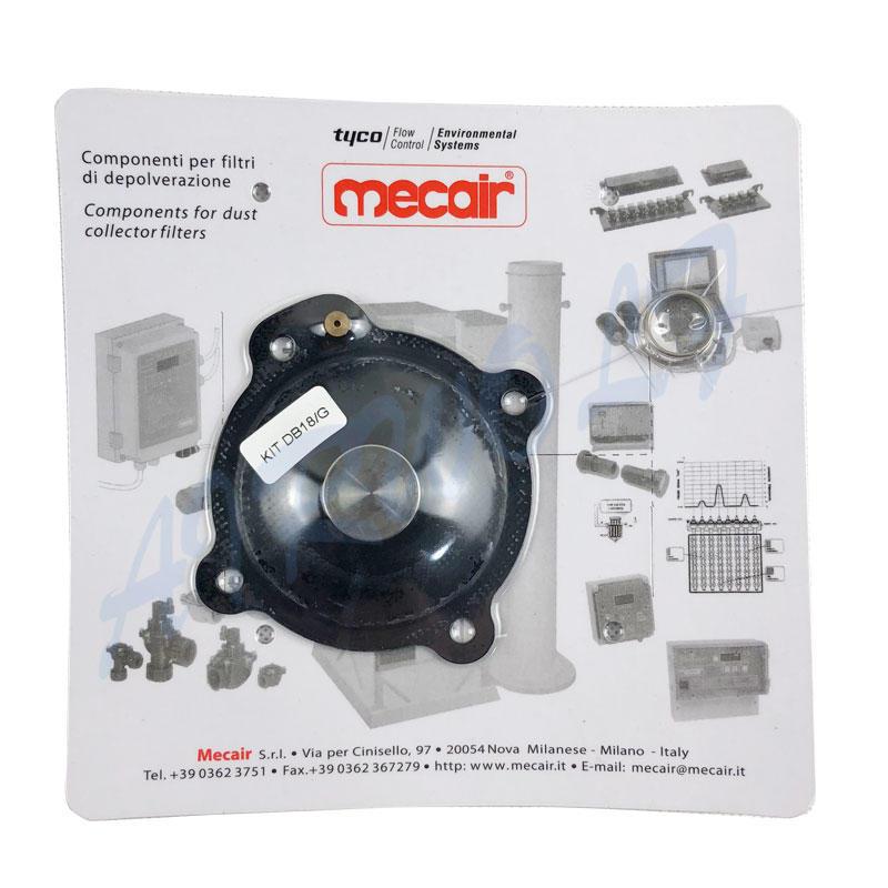 Mecair VNP208 VEM208 VNP308 1 inch nitrile pluse jet valve diaphragm repair kits DB18-1