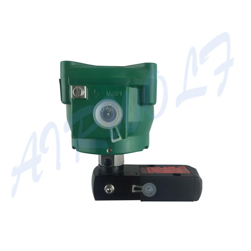 AIRWOLF ODM single solenoid valve for gas pipelines-3