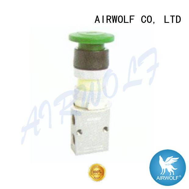AIRWOLF green pneumatic manual control valve cheapest price bulk production