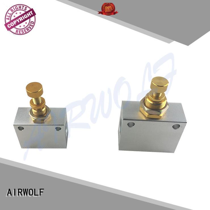 mechanical pneumatic manual valves roller bulk production