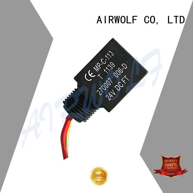 custom industrial solenoid coils cheap price at discount AIRWOLF