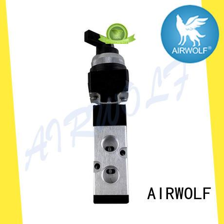 black dump truck control valve contact now mechanical force AIRWOLF