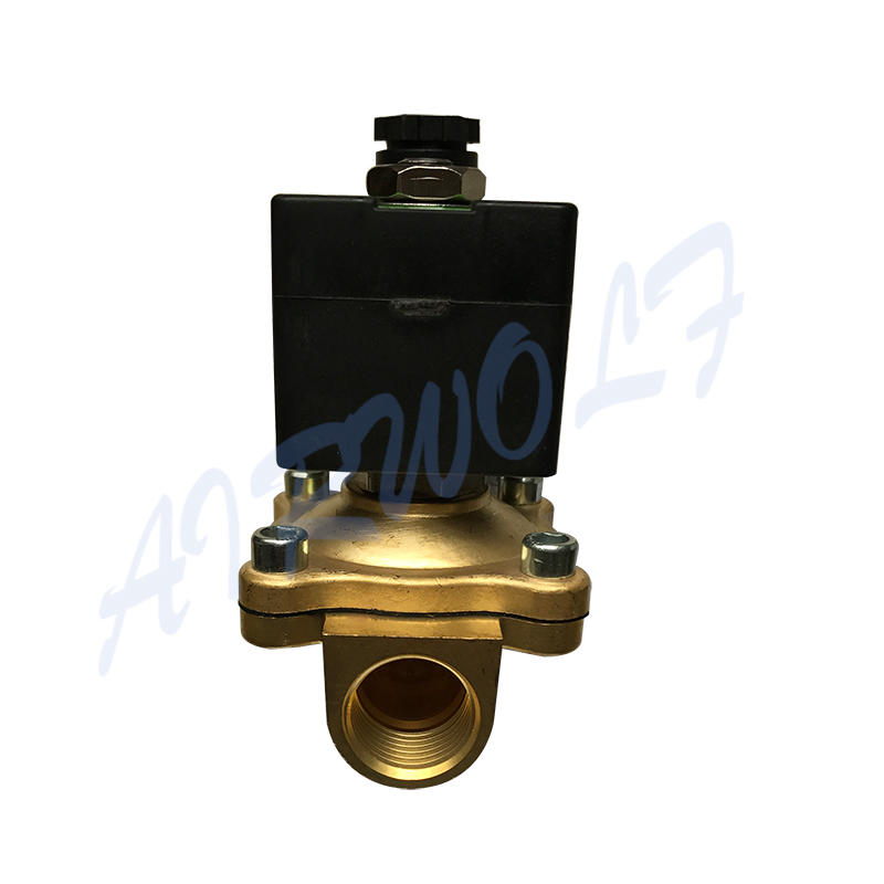 AIRWOLF hot-sale pneumatic solenoid valve single pilot water pipe-2
