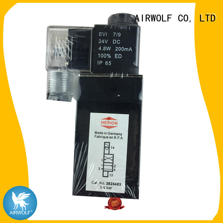 AIRWOLF OEM pilot operated solenoid valve high-quality water pipe