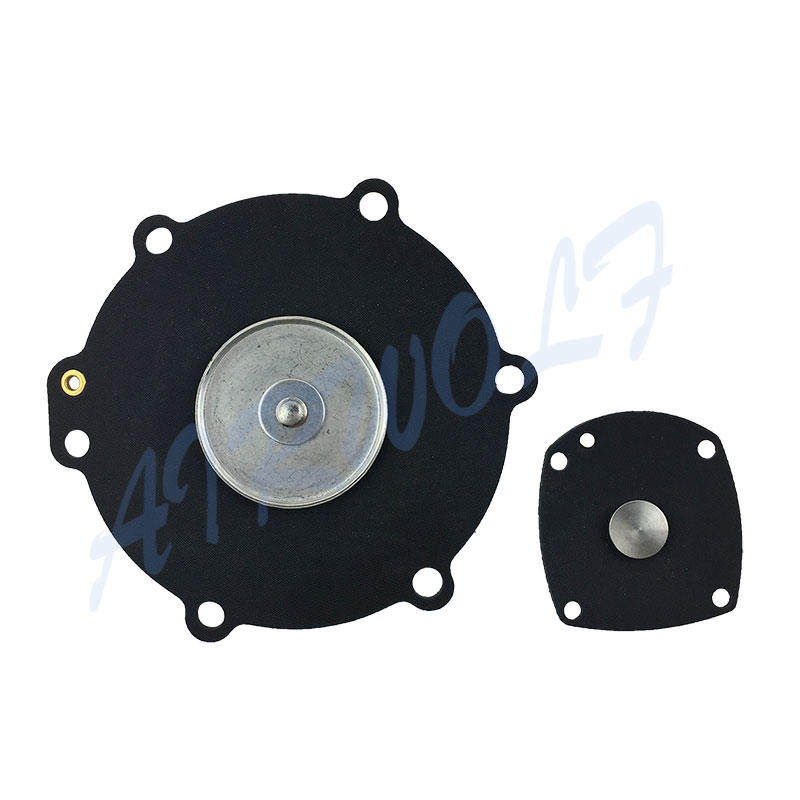 AIRWOLF red diaphragm valve repair plastic dyeing industry-2