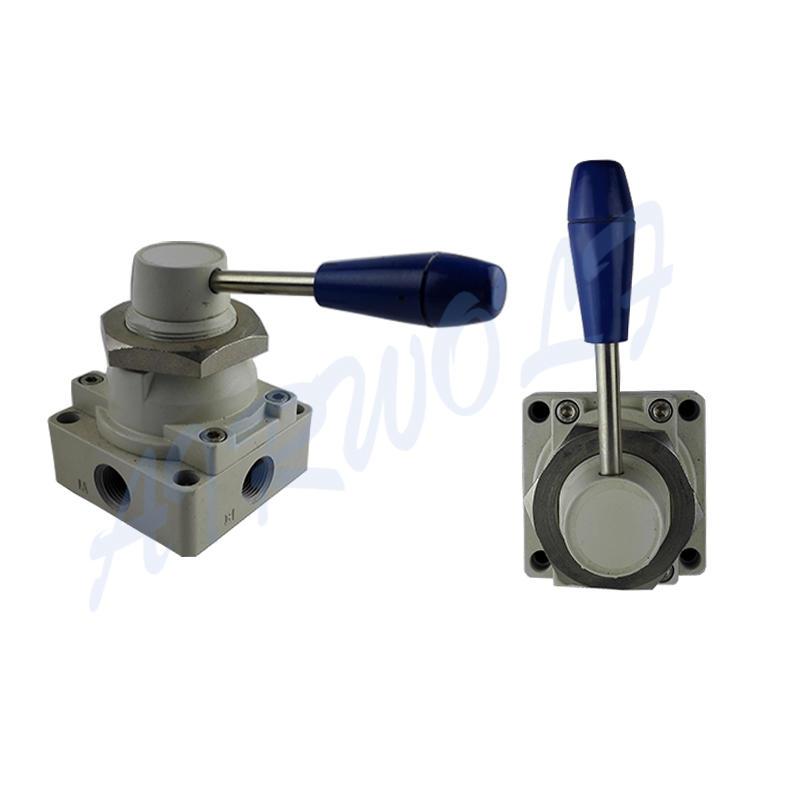 AIRWOLF cheapest price pneumatic manual control valve control bulk production-1