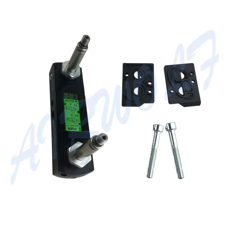 AIRWOLF high-quality pneumatic solenoid valve body adjustable system-2