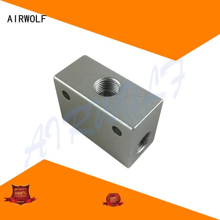 hand-switching push button pneumatic air valve flow wholesale AIRWOLF