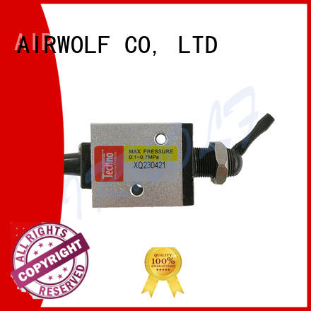 AIRWOLF high quality pneumatic push button valve operate bulk production