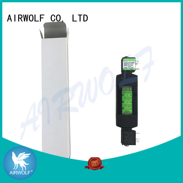 AIRWOLF ODM pneumatic solenoid valve for gas pipelines