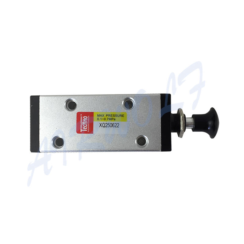 AIRWOLF slide pneumatic manual control valve operated at discount-1