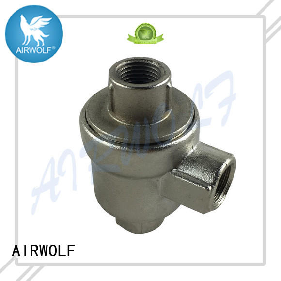 slide push button pneumatic air valve button bulk production AIRWOLF