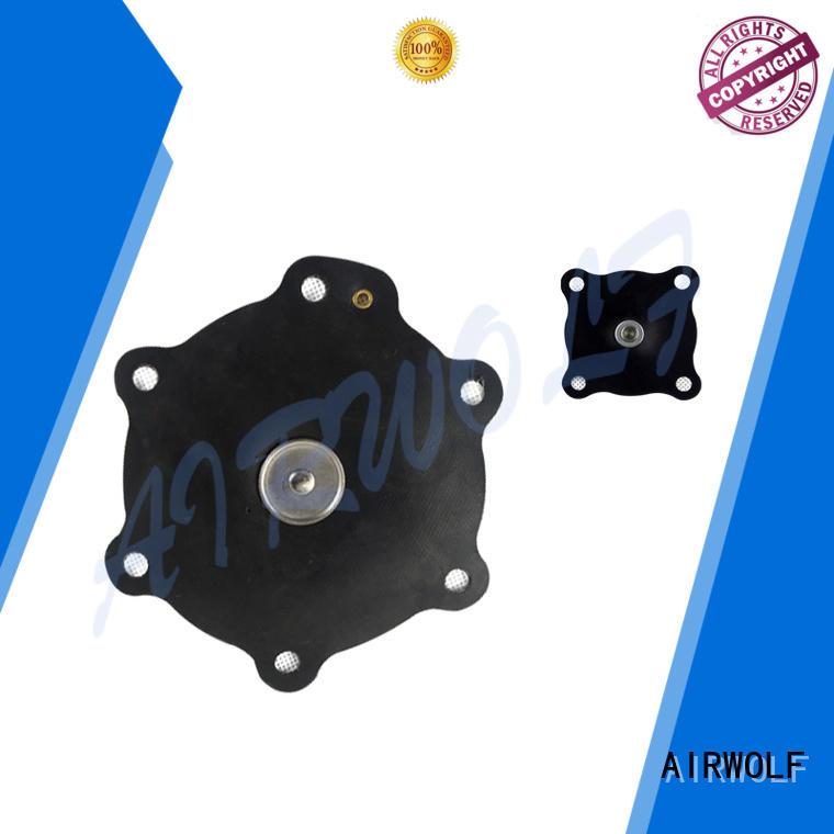 AIRWOLF yellow solenoid valve repair kit coil metallurgy industry