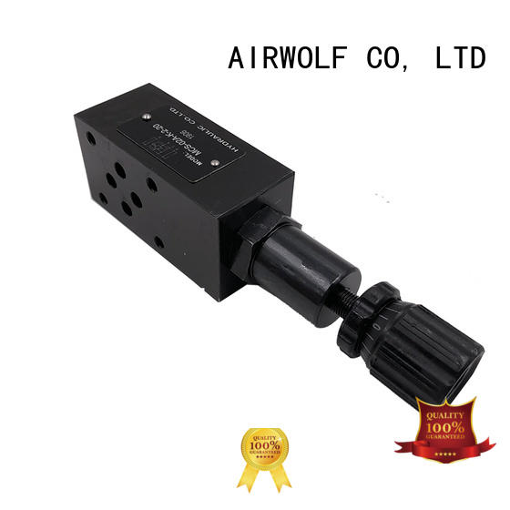 AIRWOLF customized industrial hydraulic valves wholesale for water opening