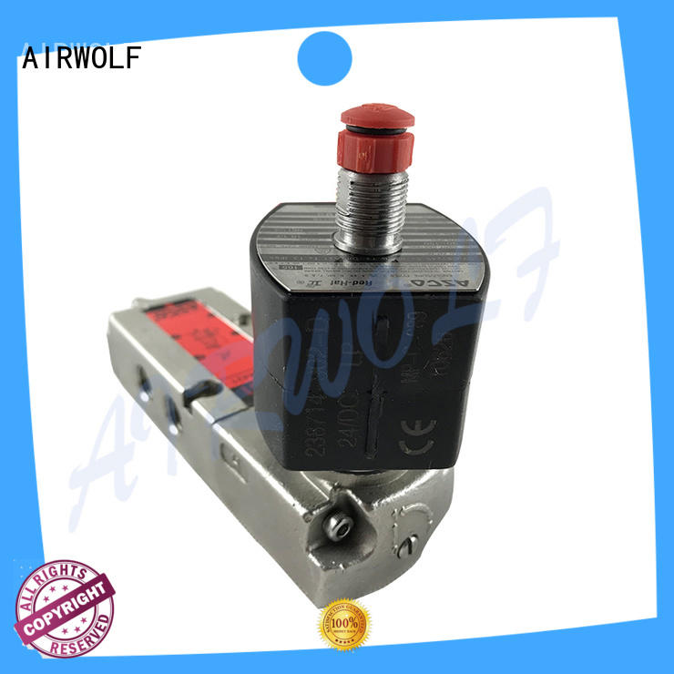 AIRWOLF ODM electromagnetic solenoid valve high-quality water pipe