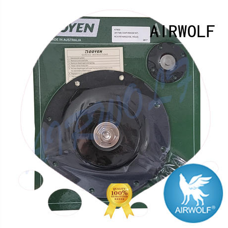 AIRWOLF stainless steel air valve repair kit nitrile textile industry
