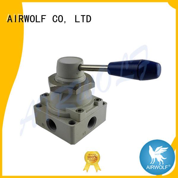 AIRWOLF cheapest price pneumatic push button valve air bulk production