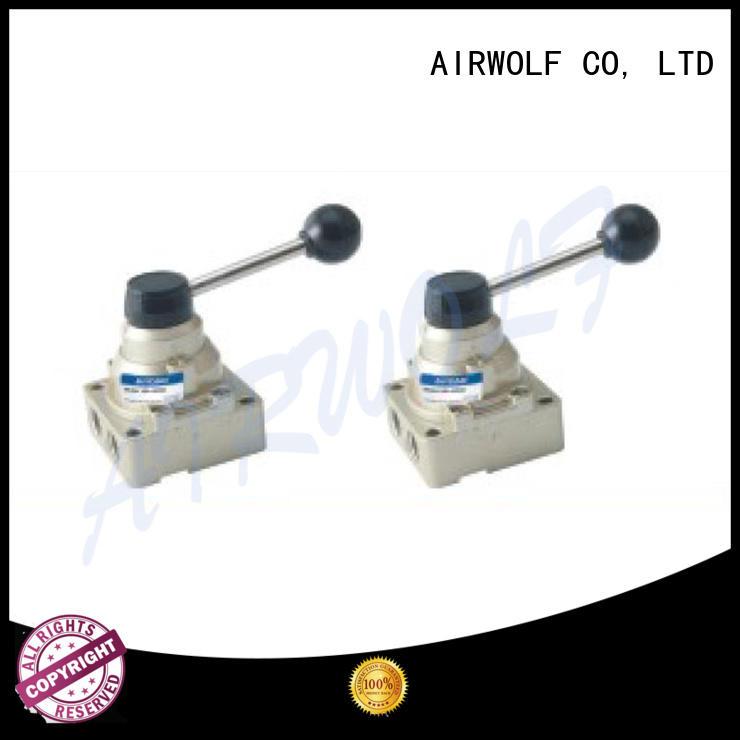 AIRWOLF slide pneumatic manual control valve roller wholesale