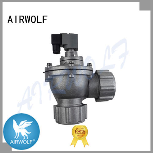 pulse solenoid valve norgren series dust blowout AIRWOLF