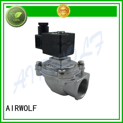 dust korea american pneumatic operated valve AIRWOLF Brand company