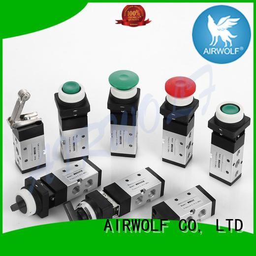 AIRWOLF black pneumatic manual valves pedal bulk production
