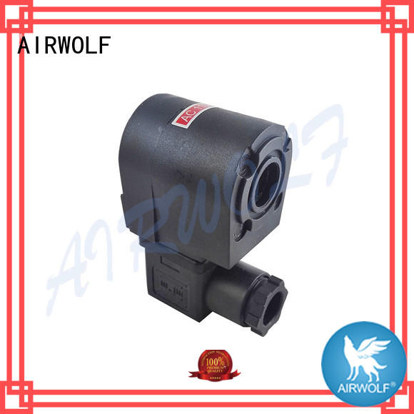 PM-60 Taeha type All the typ AC220V solenoid valve coil Black