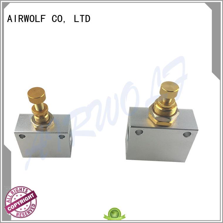 pneumatic push button valve custom at discount AIRWOLF