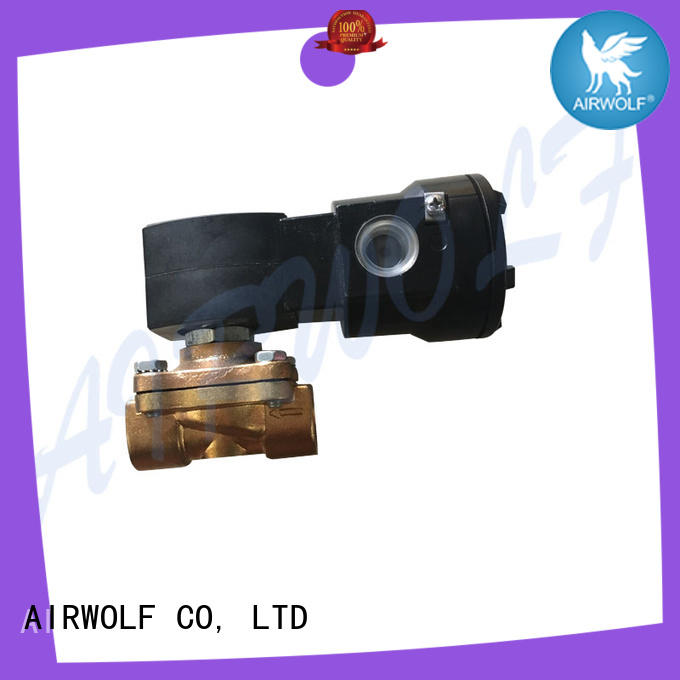 high-quality solenoid valves body liquid pipe AIRWOLF