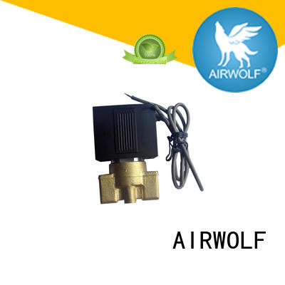 pilot operated solenoid valve operated adjustable system AIRWOLF