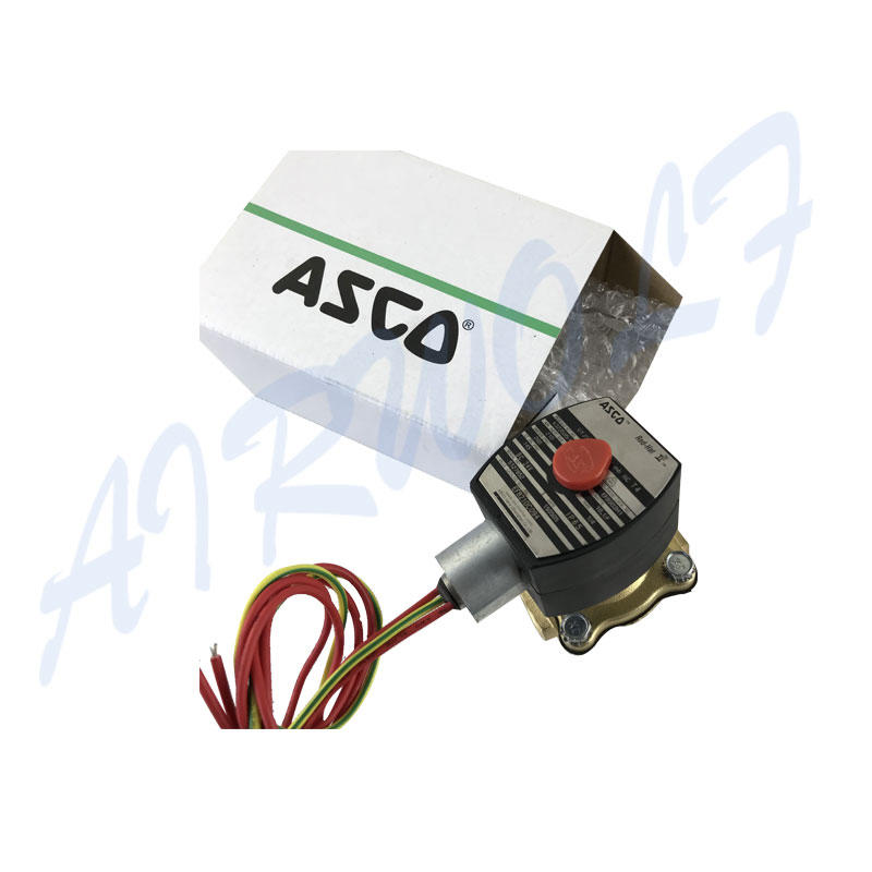 single solenoid valve high-quality single pilot for gas pipelines-1