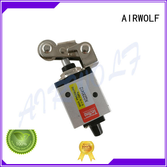 green pneumatic push button valve cheapest price operated wholesale
