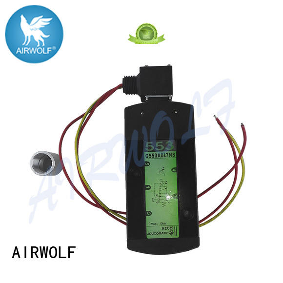 AIRWOLF solenoid valves switch control